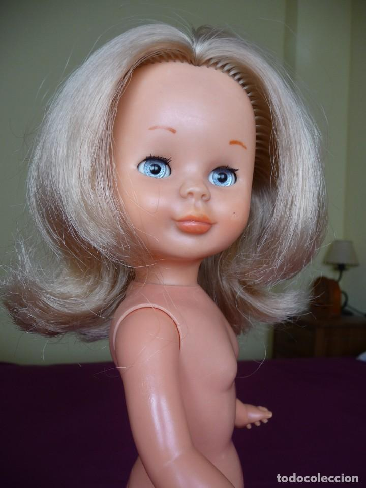 Muñecas Nancy y Lucas: Nancy de famosa rubia ojos azul margarita patabollo de las primeras tobillo ancho años 70 - Foto 12 - 194895023