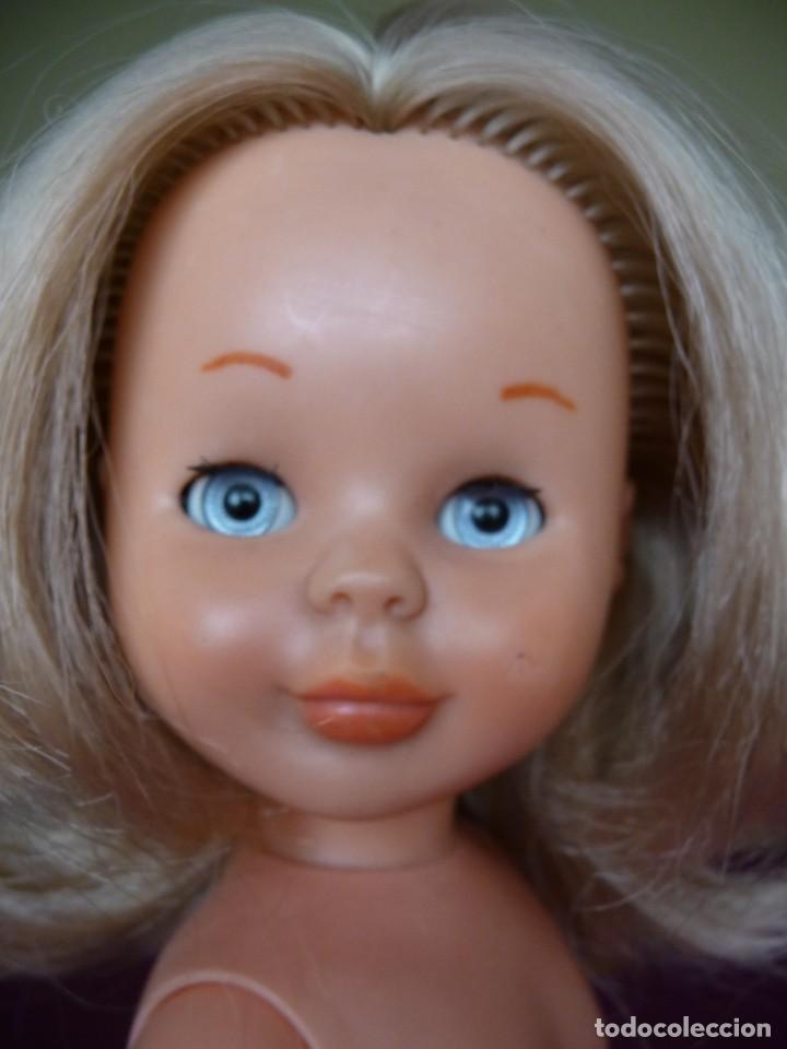 Muñecas Nancy y Lucas: Nancy de famosa rubia ojos azul margarita patabollo de las primeras tobillo ancho años 70 - Foto 14 - 194895023