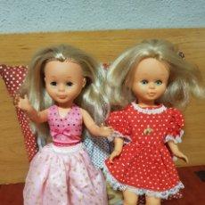 Muñecas Nancy y Lucas: LOTE 2 NANCYS DE FAMOSA. Lote 195425336