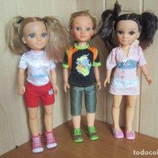 Muñecas Nancy y Lucas: NANCY NEW: LOTE DE 2 MUÑECAS NANCY + 1 LUCAS. Lote 195490175