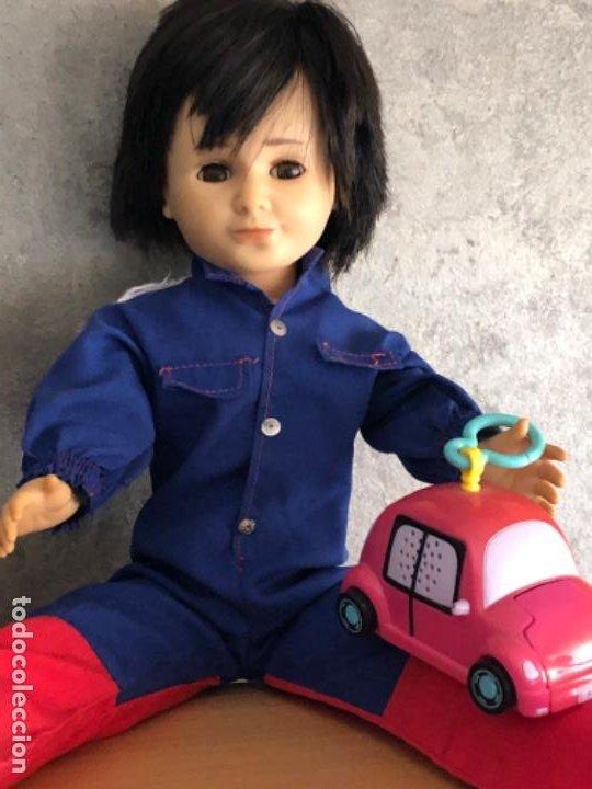 Muñecas Nancy y Lucas: Lucas años 70 + traje mecánico - Foto 4 - 195516921