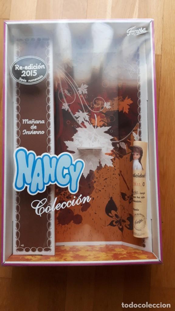 NANCY MAÑANA DE INVIERNO CAJA VACIA (Juguetes - Muñeca Española Moderna - Nancy y Lucas, Vestidos y Accesorios)