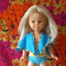 Muñecas Nancy y Lucas: CONJUNTO EN LA PLAYA NANCY-ORIGINAL AÑOS 70. Lote 198258217