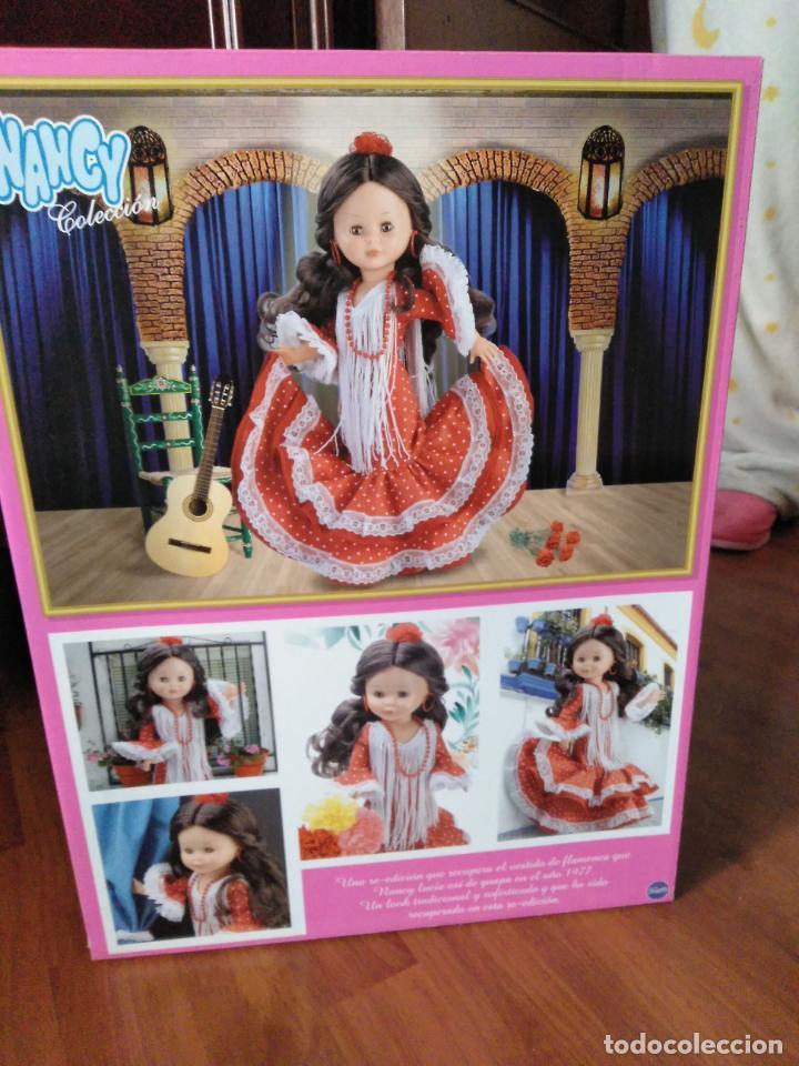 Muñecas Nancy y Lucas: Nancy Flamenca Colección Reedición 2018 Nancy se viste de Flamenca Nueva en su caja sin abrir - Foto 2 - 228365420