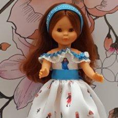 Muñecas Nancy y Lucas: VESTIDO PARA NANCY. TELA ION FIZ. Lote 195894947