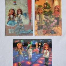 Muñecas Nancy y Lucas: NANCY DE FAMOSA POSTALES 3D ESTEREOSCOPICAS. POSTAL TRIDIMENSIONAL MUÑECA NANCY.. Lote 202522682