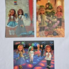 Muñecas Nancy y Lucas: NANCY DE FAMOSA POSTALES 3D ESTEREOSCOPICAS. POSTAL TRIDIMENSIONAL MUÑECA NANCY.. Lote 202522890