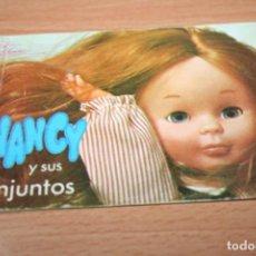 Muñecas Nancy y Lucas: CATALOGO ORIGINAL MUÑECA NANCY. Lote 202603971