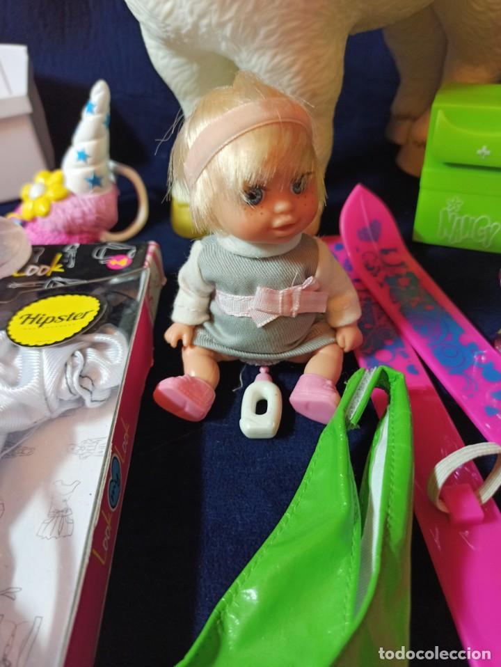 Muñecas Nancy y Lucas: Lote de Muñeca Nancy New,con muchos complementos y ropa.(todo original) - Foto 5 - 263154715