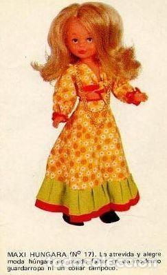 Muñecas Nancy y Lucas: conjunto maxi hungara variacion con collar, todo original - Foto 5 - 203588780