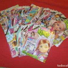 Muñecas Nancy y Lucas: LOTE REVISTAS NANCY NEW 44 REVISTAS Y 5 POSTERS XXL. Lote 203633318