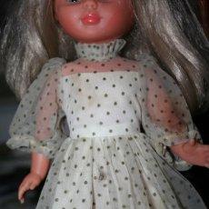 Muñecas Nancy y Lucas: VESTIDO ORIGINAL MUÑECA NANCY CUMPLEAÑOS FELIZ. Lote 204685338
