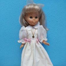 Bonecas Nancy e Lucas: MUÑECA NANCY - FAMOSA MADE IN SPAIN EN NUCA - OJOS AZULES - VESTIDO NUMERO 45. Lote 204800416