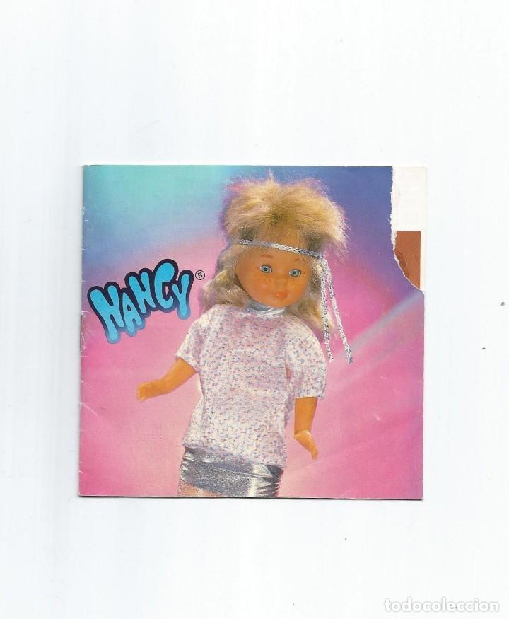 CATÁLOGO NANCY AÑOS 80 (Juguetes - Muñeca Española Moderna - Nancy y Lucas, Vestidos y Accesorios)
