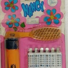 Bonecas Nancy e Lucas: NANCY BLISTER LACA Y CEPILLOS PARA EL PELO. Lote 205704840