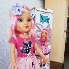 Muñecas Nancy y Lucas: NANCY PINK EN SU CAJA. Lote 206541486