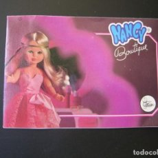 Muñecas Nancy y Lucas: DIFICIL CATALOGO DE NANCY BOUTIQUE DE FAMOSA. Lote 206832892
