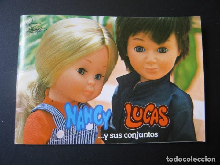 DIFICIL CATALOGO DE NANCY LUCAS Y SUS CONJUNTOS DE FAMOSA (Juguetes - Muñeca Española Moderna - Nancy y Lucas)