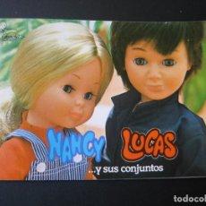Muñecas Nancy y Lucas: DIFICIL CATALOGO DE NANCY LUCAS Y SUS CONJUNTOS DE FAMOSA. Lote 206833256
