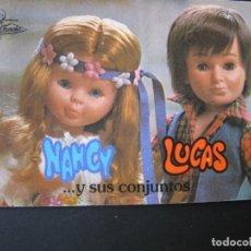 Muñecas Nancy y Lucas: DIFICIL CATALOGO DE NANCY LUCAS Y SUS CONJUNTOS DE FAMOSA. Lote 206833388