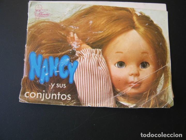 DIFICIL CATALOGO DE NANCY Y SUS CONJUNTOS DE FAMOSA (Juguetes - Muñeca Española Moderna - Nancy y Lucas)