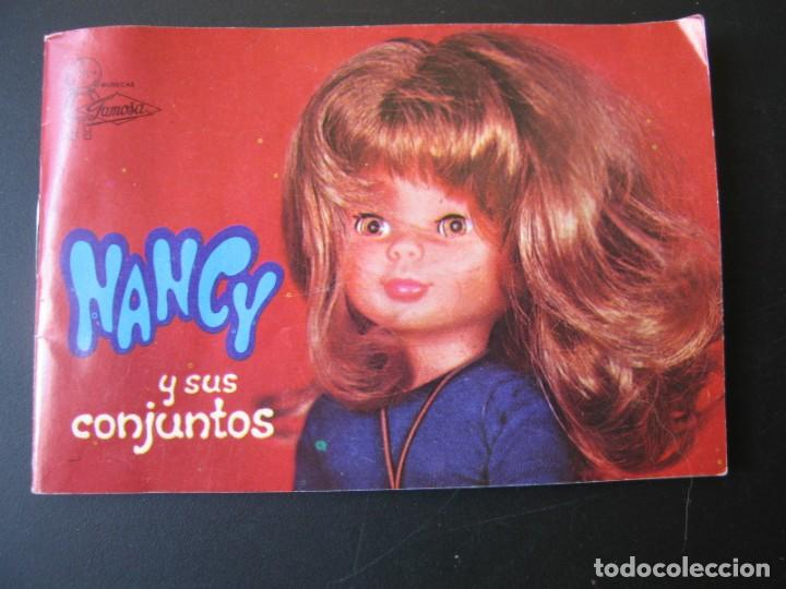 CATALOGO DE NANCY Y SUS CONJUNTOS DE FAMOSA (Juguetes - Muñeca Española Moderna - Nancy y Lucas)