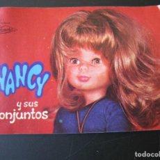 Muñecas Nancy y Lucas: CATALOGO DE NANCY Y SUS CONJUNTOS DE FAMOSA. Lote 206834155
