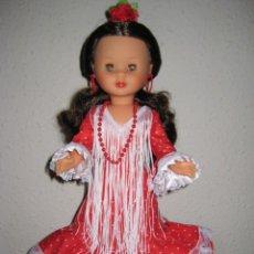 Muñecas Nancy y Lucas: NANCY FLAMENCA VESTIDO ROJO. Lote 210657775