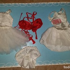 Muñecas Nancy y Lucas: LOTE 2 VERSIONES VESTIDO BAILARINA NANCY. Lote 212104793