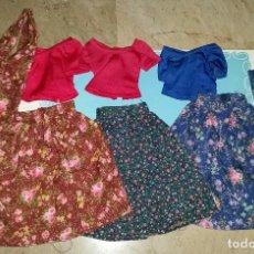 Muñecas Nancy y Lucas: LOTE3 CONJUNTOS DE NANCY MODELO FLORES. Lote 212388745