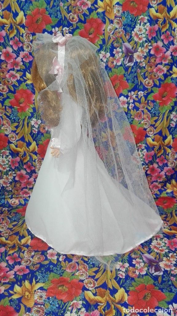 Muñecas Nancy y Lucas: DIFÍCIL VESTIDO DE NOVIA DE LA MUÑECA NANCY,FAMOSA - Foto 5 - 212570321