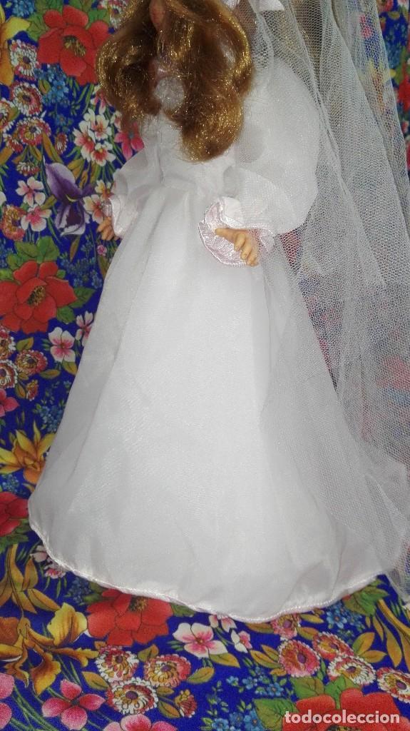 Muñecas Nancy y Lucas: DIFÍCIL VESTIDO DE NOVIA DE LA MUÑECA NANCY,FAMOSA - Foto 8 - 212570321