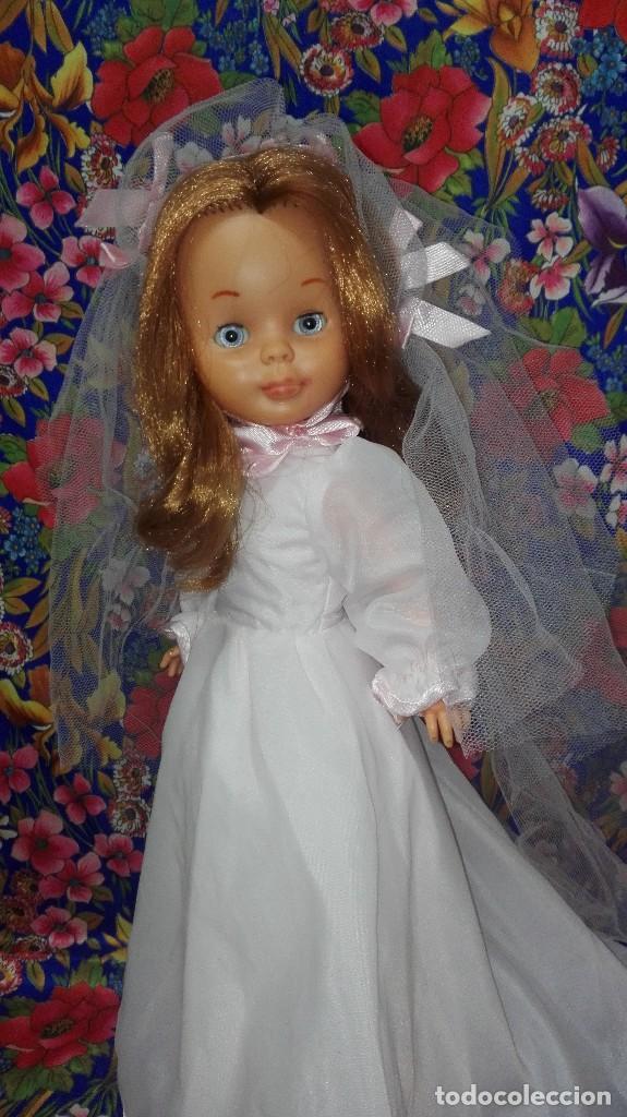 Muñecas Nancy y Lucas: DIFÍCIL VESTIDO DE NOVIA DE LA MUÑECA NANCY,FAMOSA - Foto 15 - 212570321