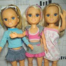 Muñecas Nancy y Lucas: 3 PRECIOSAS NANCY NEW CON ROPA Y ZAPATOS. Lote 212773500