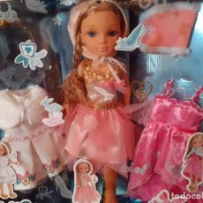 Muñecas Nancy y Lucas: MUÑECA NANCY TRES DISFRACES DE CUENTO.. Lote 213090518