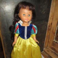 Muñecas Nancy y Lucas: NANCY BLANCANIEVES MUY BUEN ESTADO,VER DESCRIPCION. Lote 213114813