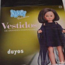 Muñecas Nancy y Lucas: DUYOS - NANCY COLECCIÓN - VESTIDOS DE GRANDES DISEÑADORES - NÚMERO 23 / NUEVO, SIN ABRIR ¡MIRA!. Lote 214329555