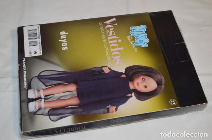 Muñecas Nancy y Lucas: DUYOS - Nancy Colección - Vestidos de grandes diseñadores - Número 23 / Nuevo, sin abrir ¡Mira! - Foto 2 - 214329555