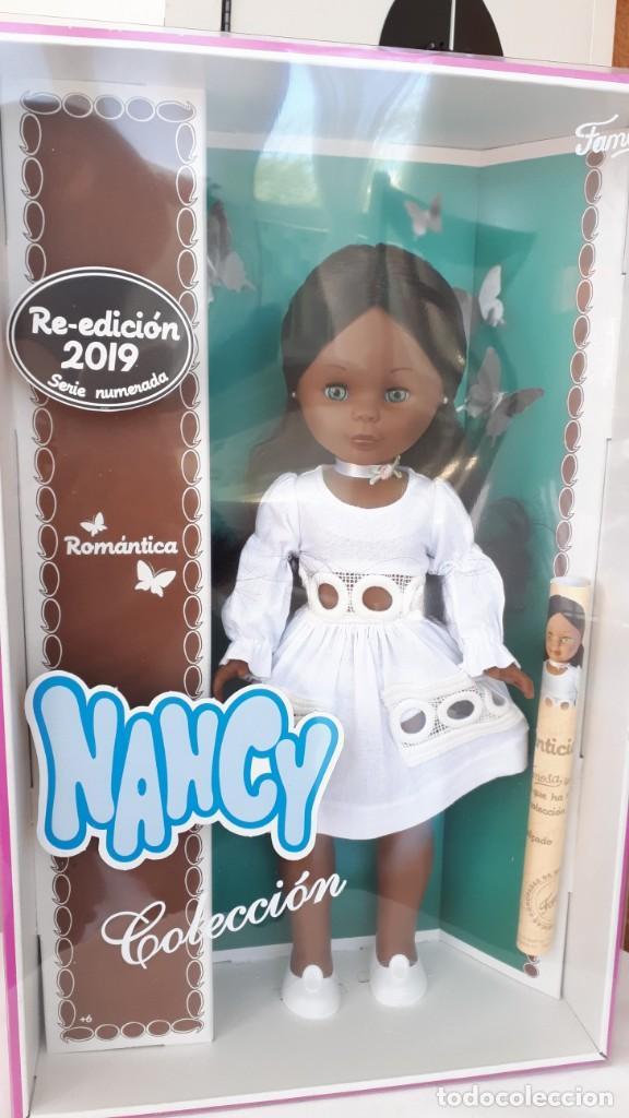 NANCY DE REEDICION ROMANTICA NUEVA A ESTRENAR (Juguetes - Muñeca Española Moderna - Nancy y Lucas)