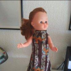 Muñecas Nancy y Lucas: VESTIDO LARGO DE NANCY ECHÓ A MANO. Lote 216568927