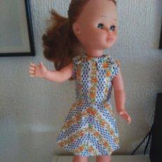 Muñecas Nancy y Lucas: VESTIDO DE FLORES PARA NANCY HECHO A MANO. Lote 216569442
