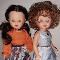 Muñecas Nancy y Lucas: LOTE 2 NANCY DE FAMOSA COLECCION TUSSET CON VESTIDO SWAROVSKI Y FLAMENCA REEDICION CON TRAJE TUSSET. Lote 217441753