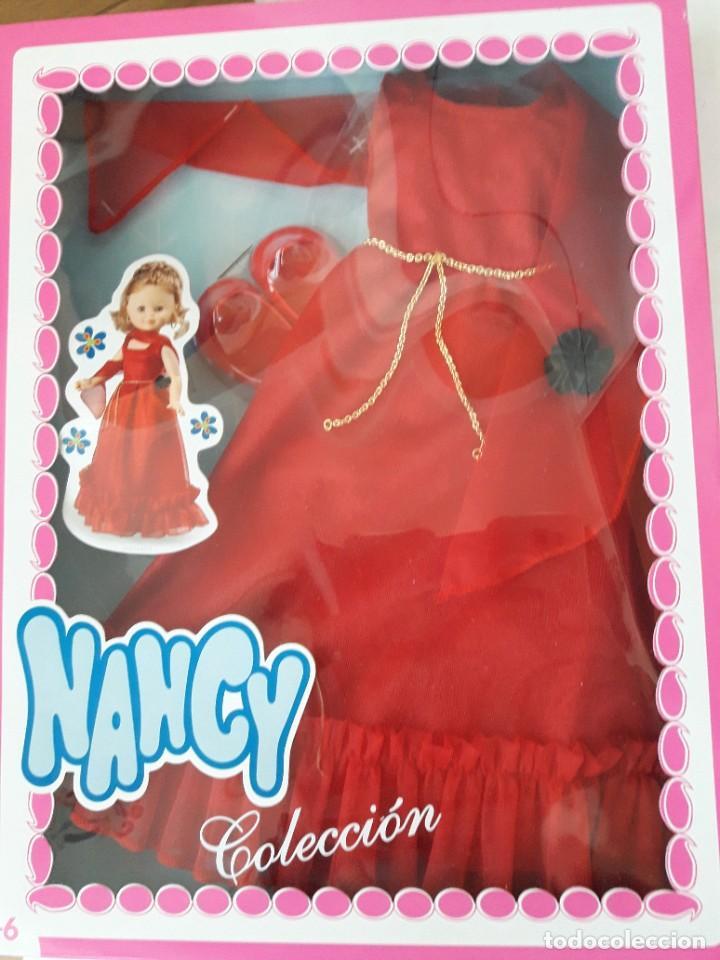 NANCY CONJUNTO FANTASIA REEDICION NUEVO EN CAJA (Juguetes - Muñeca Española Moderna - Nancy y Lucas, Vestidos y Accesorios)