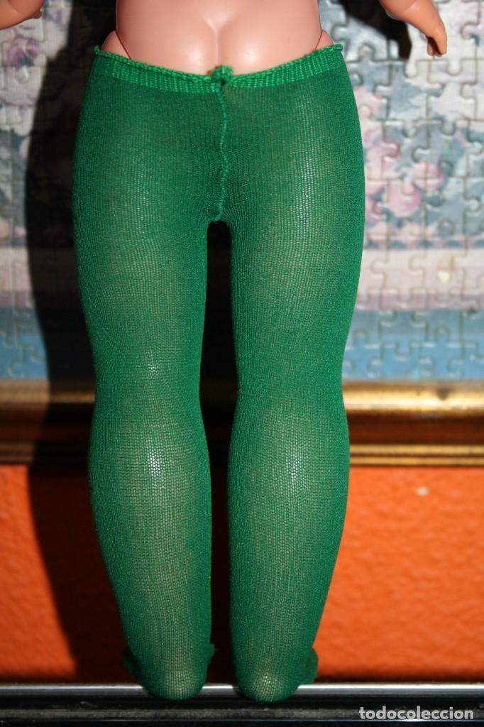 Muñecas Nancy y Lucas: pantys verdes originales muñeca nancy conjunto verde flexi - Foto 2 - 220378381