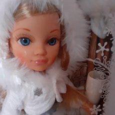 Muñecas Nancy y Lucas: NANCY NEW PATINADORA, BRILLOS EN LA NIEVE.. Lote 220672387
