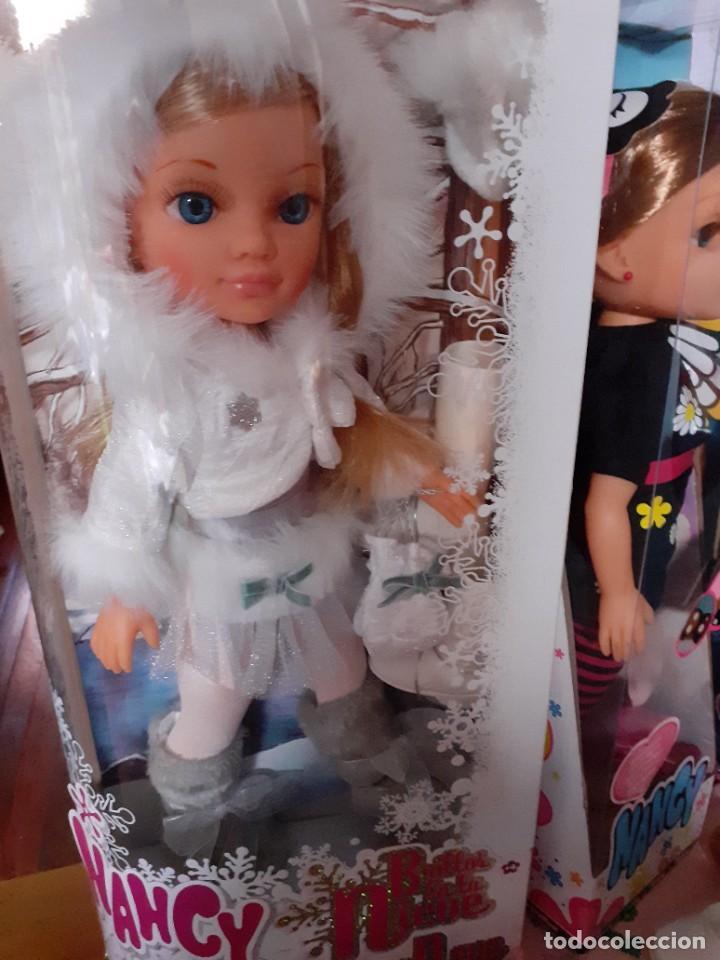 Muñecas Nancy y Lucas: Nancy New Patinadora, brillos en la Nieve. - Foto 2 - 220672387