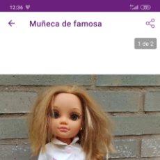 Muñecas Nancy y Lucas: MUÑECA DE FAMOSA. Lote 221357471