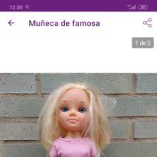 Muñecas Nancy y Lucas: FAMOSA, MUÑECA. Lote 221357641