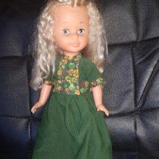 Muñecas Nancy y Lucas: VESTIDO PANA CON ZUECOS. Lote 221460882
