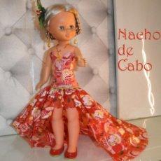 Muñecas Nancy y Lucas: VESTIDO NAVIDEÑO PARA NANCY CLASICA.. Lote 221767375